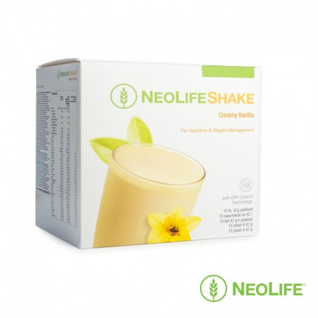NeoLifeShake Creamy Vanilla, for nutrition and weight management