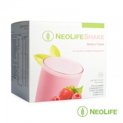 NeoLifeShake Berries 'n Cream, for nutrition and weight management