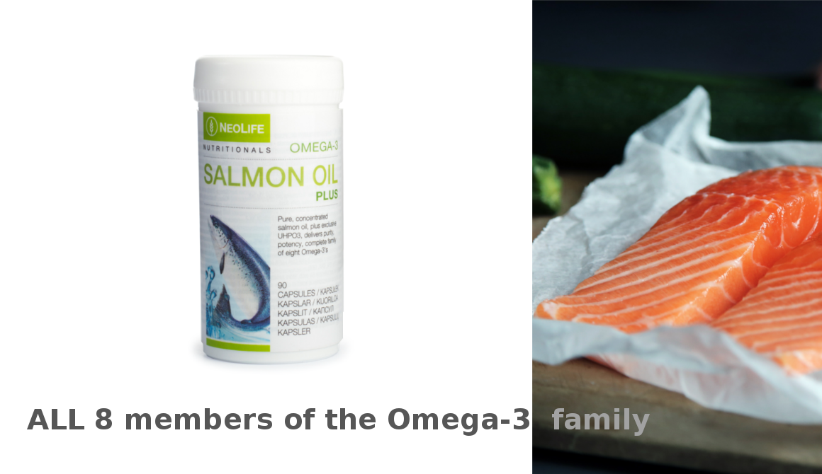 Complete family of eight Omega-3